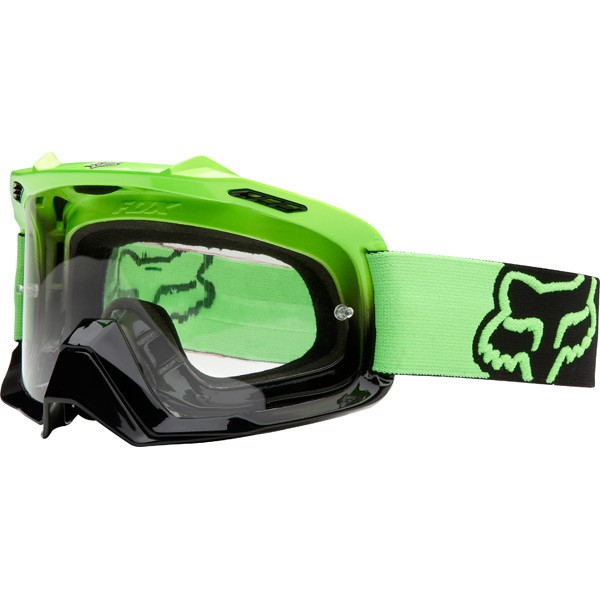 FOX AIRSPC day glow green/black fade/clear Szemüveg