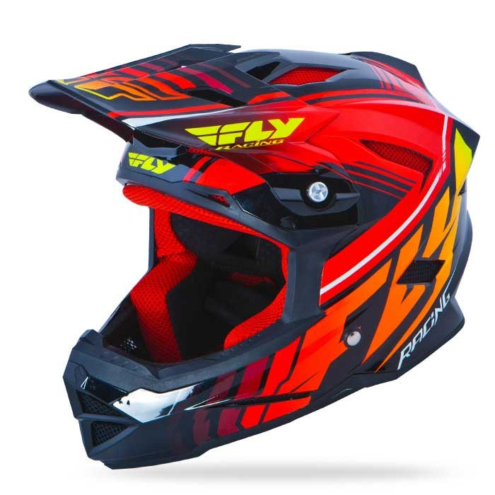 FLY MTB Default (black-red) Sisak