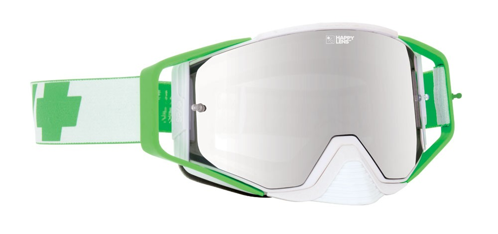 SPY OPTIC ACE Jeremy McGrath MX Szemüveg (lime/fehér)